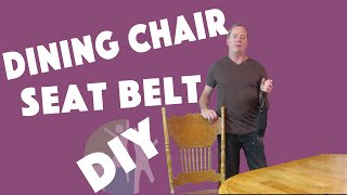 Autism Resources | Adapting a Dining Chair For an Autistic Child