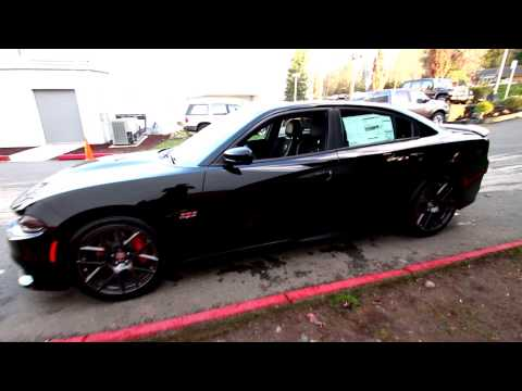 2016 dodge charger r t scat pack black gh150041 redmond seattle youtube. Black Bedroom Furniture Sets. Home Design Ideas