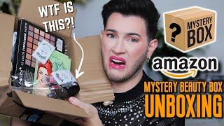 OPENING MY FIRST AMAZON MAKEUP MYSTERY BOX! I got played...