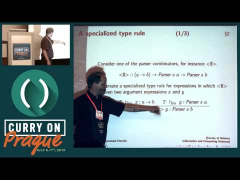 Jurriaan Hage - Making Embedded Domain Specific Languages a Practical Reality - Curry On