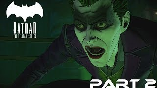 Batman The Enemy Within Episode 5 Same Stitch (Vigilante Path) Part 2 Ending