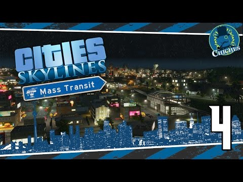 Cities Skylines: Mass Transit #4 ¡Monorraíl!   en español