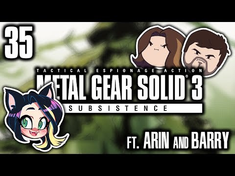►Metal Gear Solid 3: Subsistence►NIGHTMARE►With Egoraptor & Barry►PART 35 - Kitty Kat Gaming