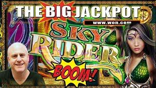 24 FREE GAME$ ✦ SKY RIDER JACKPOT HANDPAY ✦ $100 BET | The Big Jackpot