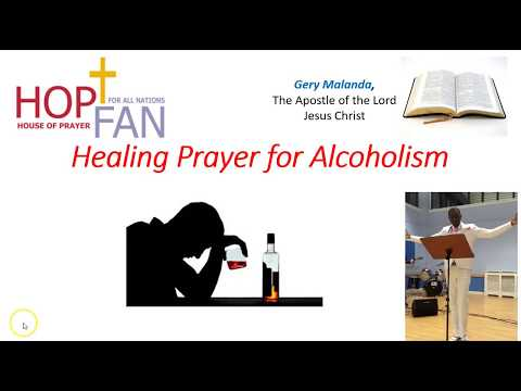 Healing Prayer For Alcoholism