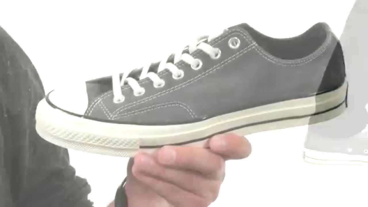 bf8b0869ead Converse Chuck Taylor® All Star® 70 Ox Suede SKU 8586975 - YouTube