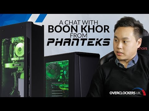 Chatting with Boon Khor