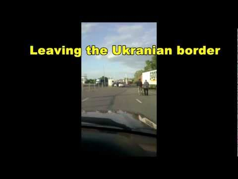 Driving To Russia 2012: Border between Ukraine and Russia - Road Kiev Moscow