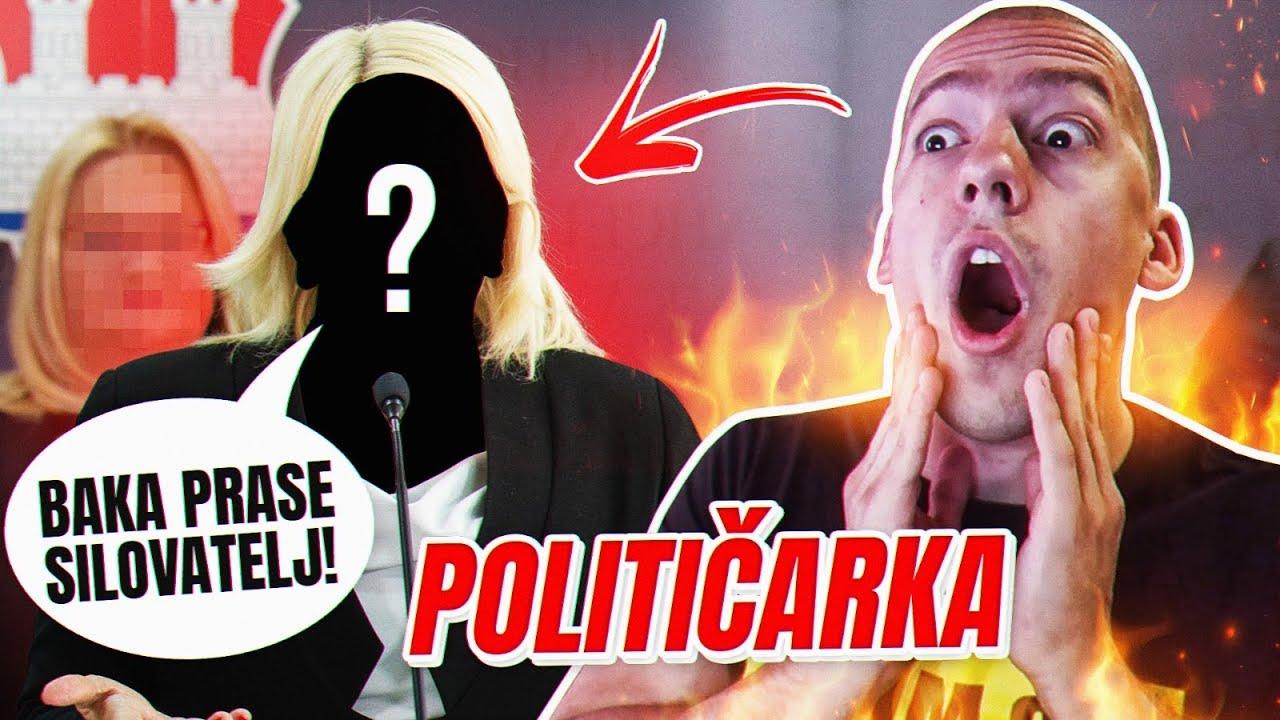 POLITIČARKA ME OPTUŽUJE DA SAM SILOVATELJ - ISTI NIXA ZIZU!
