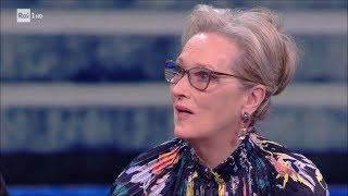 Meryl Streep e Tom Hanks (5^ parte) - Che tempo che fa 14/01/2018