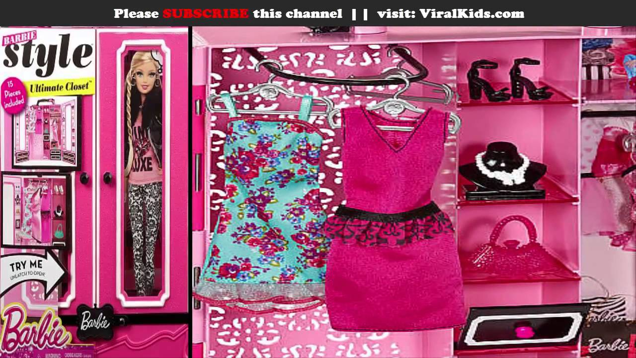 Barbie Closet Fashion Games