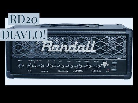 Randall RD20 Diavlo Head in-depth demo!