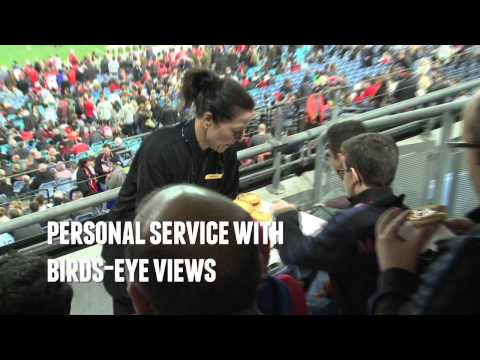 ANZ Stadium -  Manchester United  - Corporate Hospitality video