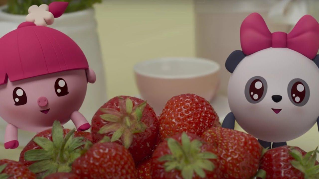 Малышарики — Каша — Новые серии — 185 серия — Мультики 2021 для малышей