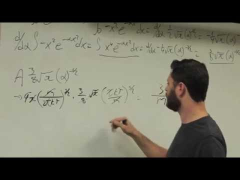 Derivation of rms speed from Maxwell-Boltzmann Distribution
