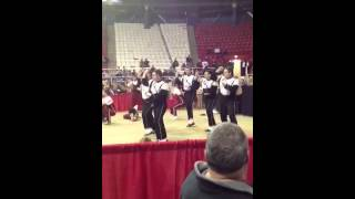 Ohio university marching 110 dance off- Gangnam style
