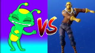 Fortnite All Dances in real life Challenge - Fortnite Battle Royale dance con Groovy el Marciano