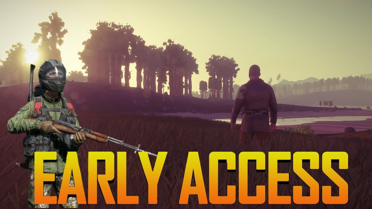 how games like ark dayz and rust fall into the early access loop a