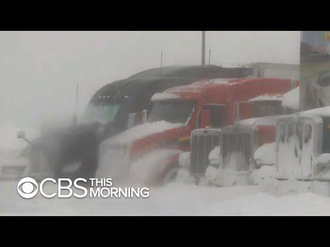 Sarykarmen Rivera  - Tormentas invernales en otros estados provocan problemas en TIA