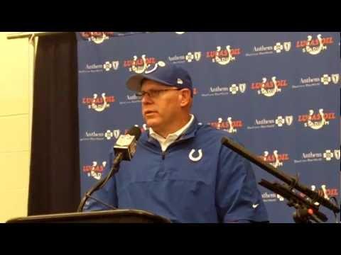 Colts Head Coach Bruce Arians