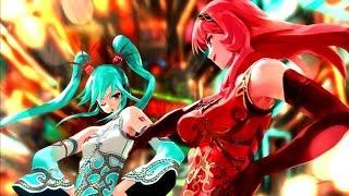 "Hatsune Miku: Project DIVA F - [PV] ""World's End Dance Hall"" (Romaji Subs)"