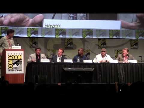 """The Expendables 2"" panel, Comic-Con 2012"