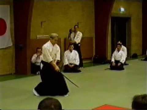 Shoji Nishio Aikido Toho Iai 13 Nukiawase Gokyo