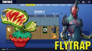 FORTNITE How To Get FREE FLYTRAP SKIN XBOX PS4! New FLYTRAP SKIN Gameplay In Fortnite LIVE!
