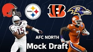 Best 2017 NFL Draft Fits for Steelers, Bengals, Ravens & Browns | NFL | Move the Sticks