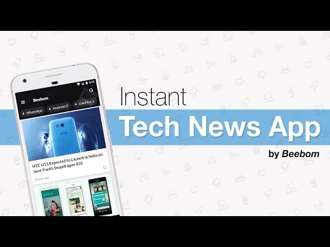 Introducing The Beebom App - Instant Tech News App For Android