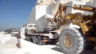 Bianco Carrara marble quarry 3