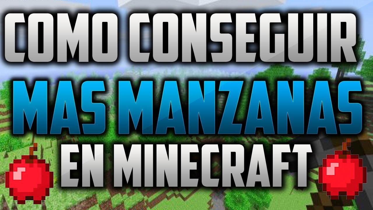 Armario Suspenso Escritorio ~ Tutorial Como Conseguir Mas Manzanas En Minecraft YouTube