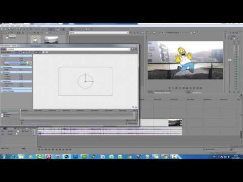 Sony Vegas Pro Video Uzerine Hareketli Resim Ekleme