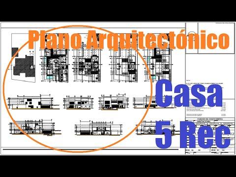 Que contiene un plano arquitect nico youtube for Que es un plano arquitectonico