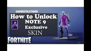 How to unlock the Galaxy Skin [Fortnite] with the Note 9