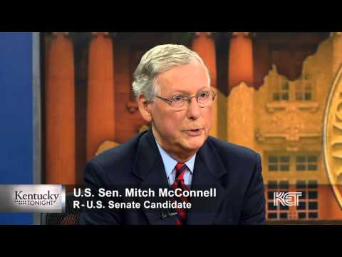 Mitch McConnell on the Tea Party Movement   Kentucky Tonight   KET