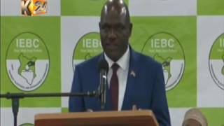 Wafula Chebukati: The issue of dead voters is not there anymore
