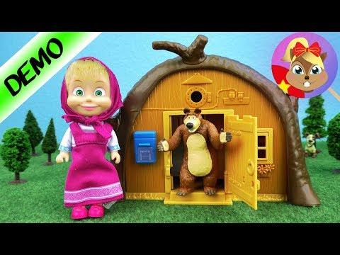 Masha và bạn gấu - Ngôi nhà của Masha Unboxing   Masha and the Bear Vietnamese