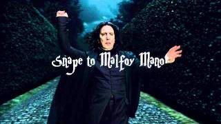 Snape to Malfoy Manor - 2nd Version