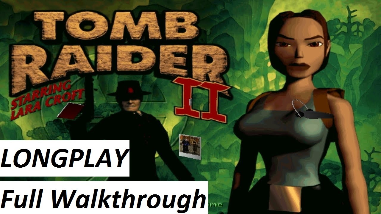 Tomb Raider 2 1997 Walkthrough Complete Game Hd Youtube