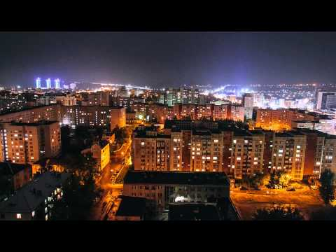 Barnaul - night  (Timelapse)