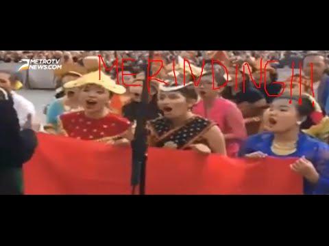 MERINDING!!! Lagu-lagu Daerah Indonesia Menggetarkan Vatikan