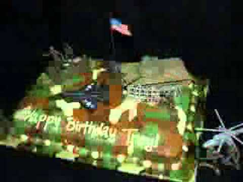Army Cake Decoration Ideas Youtube