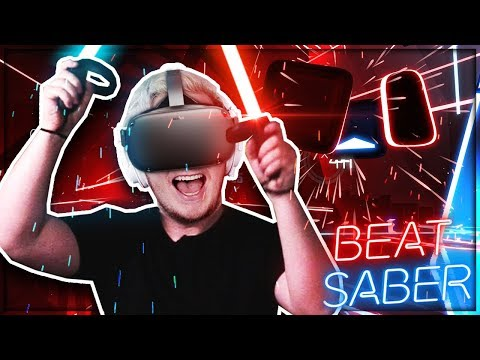EXPERT Mode on Beat Saber [ft Oculus Quest!]