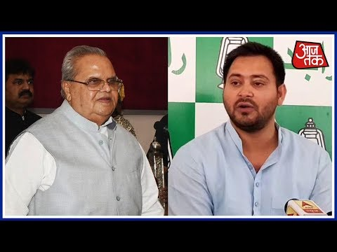 Tejaswi Yadav Meets Bihar Governor In Patna; Stakes Claim To Form Government