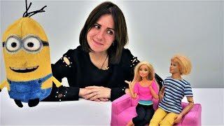 Куклы Барби - Работа для Кена. Игрушки для девочек.