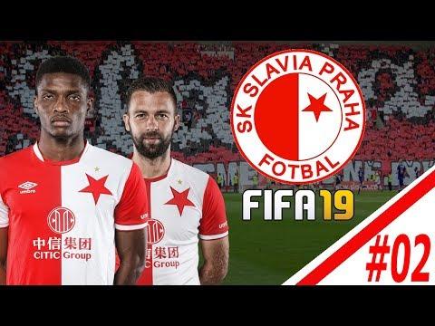 FIFA 19 CZ   Kariéra za Slávii Praha #02  Zápas s Viktorií Plzeň !