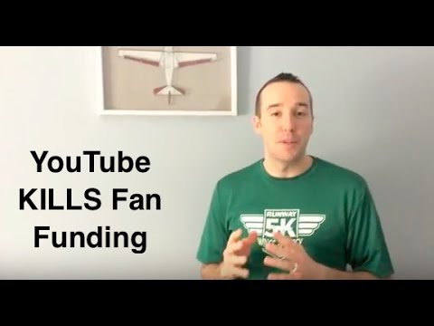 YouTube kills FAN FUNDING - SUPER CHaT takes over