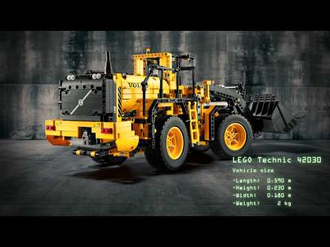 comparing-the-lego-technic-and-the-volvo-l350f-wheel-loader