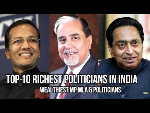 Top 10 Richest Politicians In India 2016